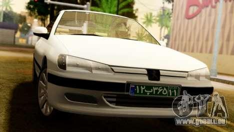 Peugeot 406 für GTA San Andreas rechten Ansicht