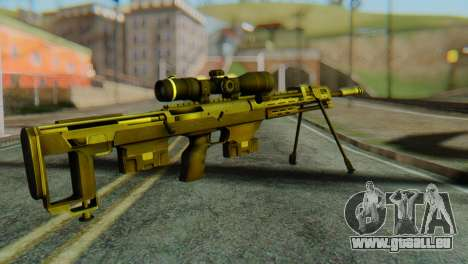 DSR50 Sniper Rifle pour GTA San Andreas deuxième écran