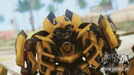 Bumblebee Skin from Transformers v2 für GTA San Andreas