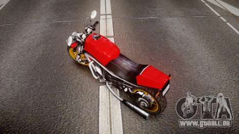 Streetfighter pour GTA 4 Vue arrière de la gauche