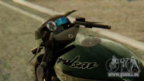 Bajaj Rouser 135 pour GTA San Andreas vue de droite