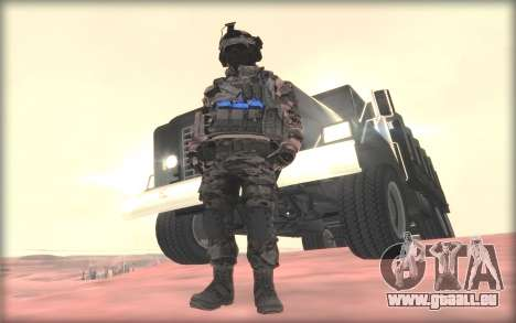 BF3 Soldier pour GTA San Andreas