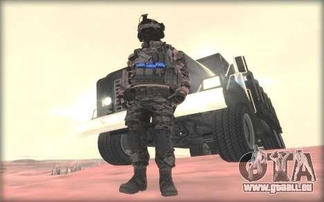 BF3 Soldier für GTA San Andreas