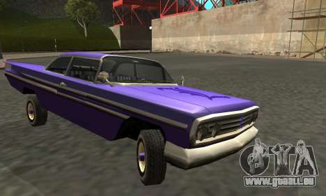 Luni Voodoo Remastered pour GTA San Andreas vue intérieure