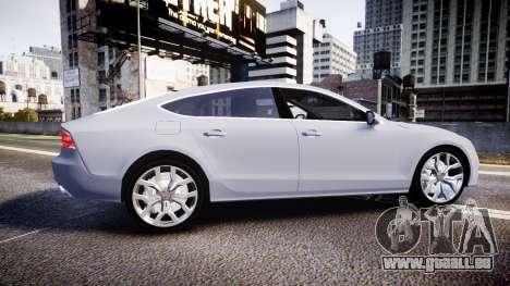 Audi A7 pour GTA 4 est une gauche