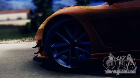 Pegassi Osiris from GTA 5 pour GTA San Andreas vue arrière