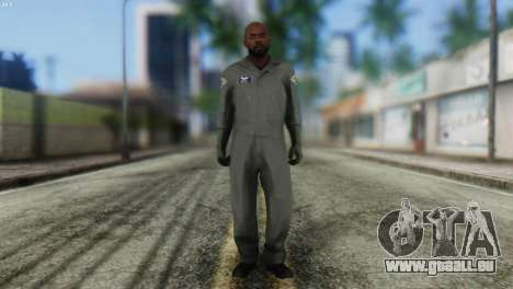 Pilot Skin from GTA 5 pour GTA San Andreas