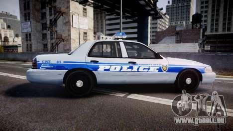 Ford Crown Victoria Liberty Police [ELS] pour GTA 4 est une gauche