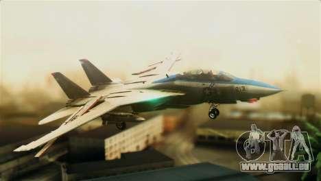 F-14D VF-213 Black Lions für GTA San Andreas
