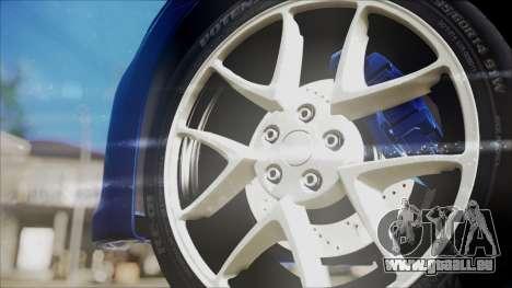 Nissan Maxima 2009 pour GTA San Andreas vue de droite