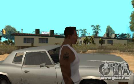 Цепь Monster Energy für GTA San Andreas dritten Screenshot