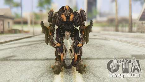 Bumblebee Skin from Transformers v1 pour GTA San Andreas deuxième écran