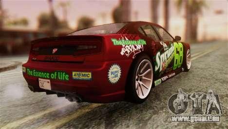 GTA 5 Bravado Buffalo Sprunk HQLM pour GTA San Andreas laissé vue