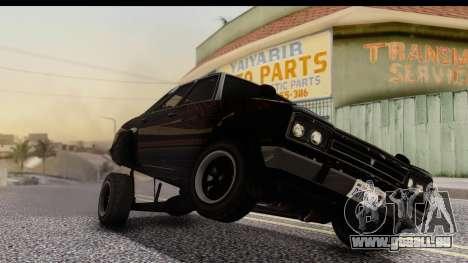 GTA 5 Vulcar Warrener IVF für GTA San Andreas rechten Ansicht