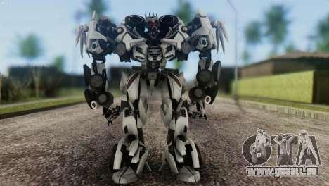 Soundwave Skin from Transformers für GTA San Andreas zweiten Screenshot