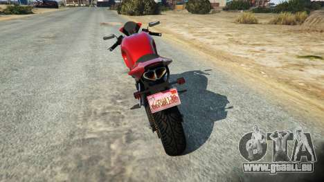 LC VC License plate pour GTA 5
