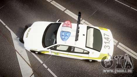 Dodge Charger Surete Du Quebec [ELS] für GTA 4 rechte Ansicht