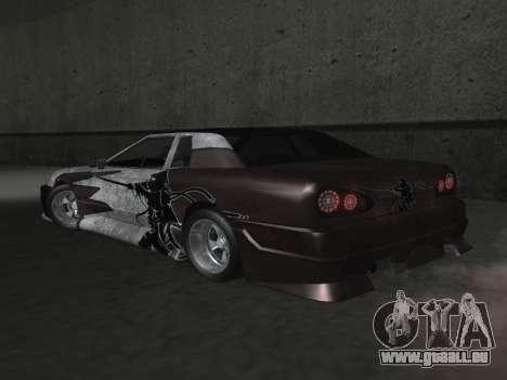 Elegy Paintjobs pour GTA San Andreas vue de dessus