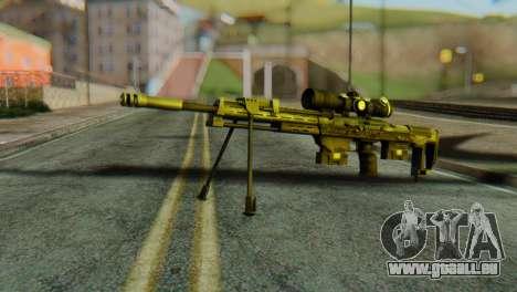 DSR50 Sniper Rifle pour GTA San Andreas