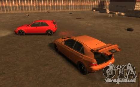 Karin Sultan Hatchback v2 pour GTA 4 est un côté