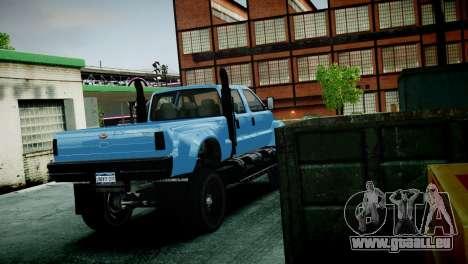 GTA 5 Guardian pour GTA 4 Vue arrière