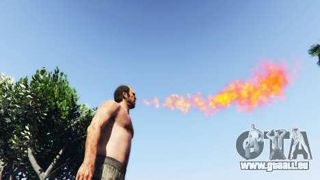 Cracheur de feu v2.0 pour GTA 5