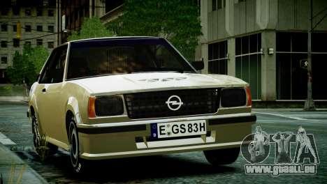 Opel Ascona B pour GTA 4