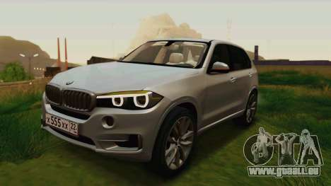BMW X5 F15 2014 für GTA San Andreas Motor