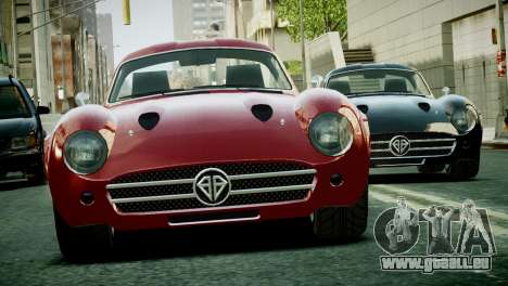 Benefactor Stirling GT from GTA 5 pour GTA 4