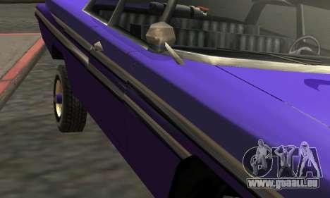 Luni Voodoo Remastered pour GTA San Andreas vue de dessus