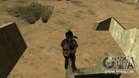 BF3 Soldier pour GTA San Andreas sixième écran