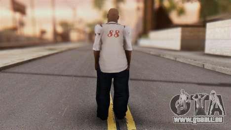 Big Smoke Skin 1 pour GTA San Andreas deuxième écran