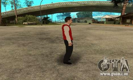 Casino Skin pour GTA San Andreas cinquième écran