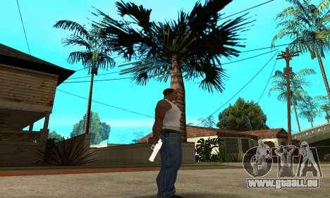 Metalic Deagle für GTA San Andreas dritten Screenshot