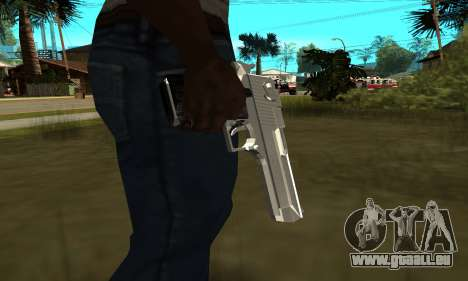 Metalic Deagle für GTA San Andreas