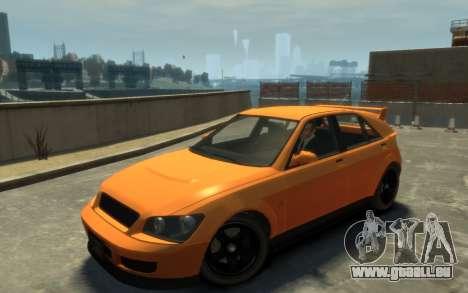 Karin Sultan Hatchback v2 pour GTA 4