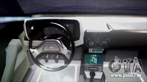 Ford Escort pour GTA San Andreas vue arrière