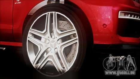 Mercedes-Benz ML 63 AMG 2014 pour GTA San Andreas vue de droite