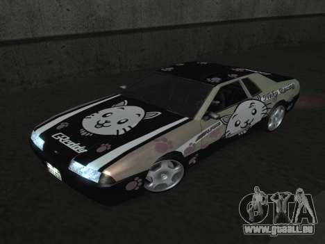 Elegy Paintjobs für GTA San Andreas Rückansicht