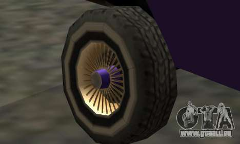 Luni Voodoo Remastered pour GTA San Andreas vue de côté