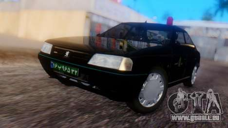 Peugeot 405 GLX Police pour GTA San Andreas