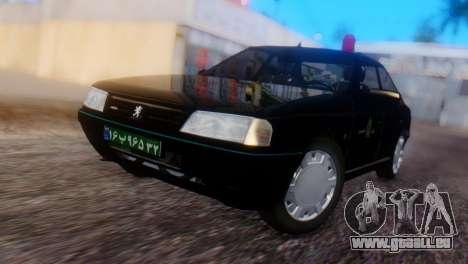 Peugeot 405 GLX Police pour GTA San Andreas