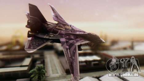 F-14D Azusa Miura The Idolmaster für GTA San Andreas linke Ansicht