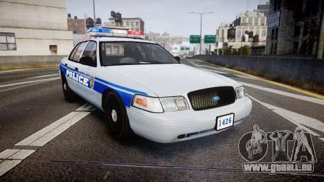 Ford Crown Victoria Liberty Police [ELS] pour GTA 4