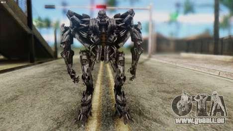 Starscream Skin from Transformers v2 für GTA San Andreas zweiten Screenshot