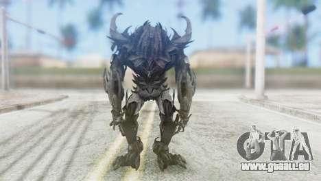 Crankcase Skin from Transformers pour GTA San Andreas troisième écran