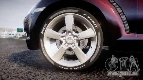 Mazda RX-8 2006 v3.2 Pirelli tires für GTA 4 Rückansicht