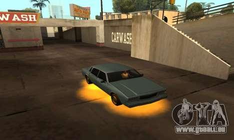 Cleo Néon pour GTA San Andreas troisième écran
