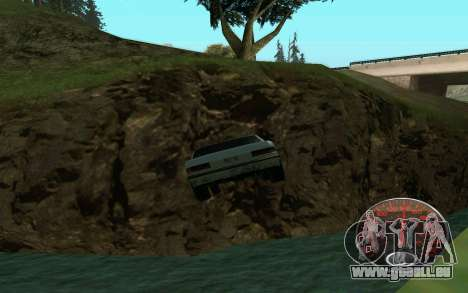 Tacho Lada für GTA San Andreas her Screenshot