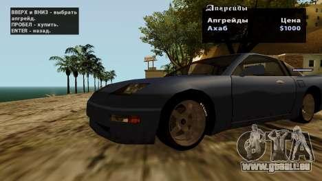 Roues de GTA 5 v2 pour GTA San Andreas onzième écran